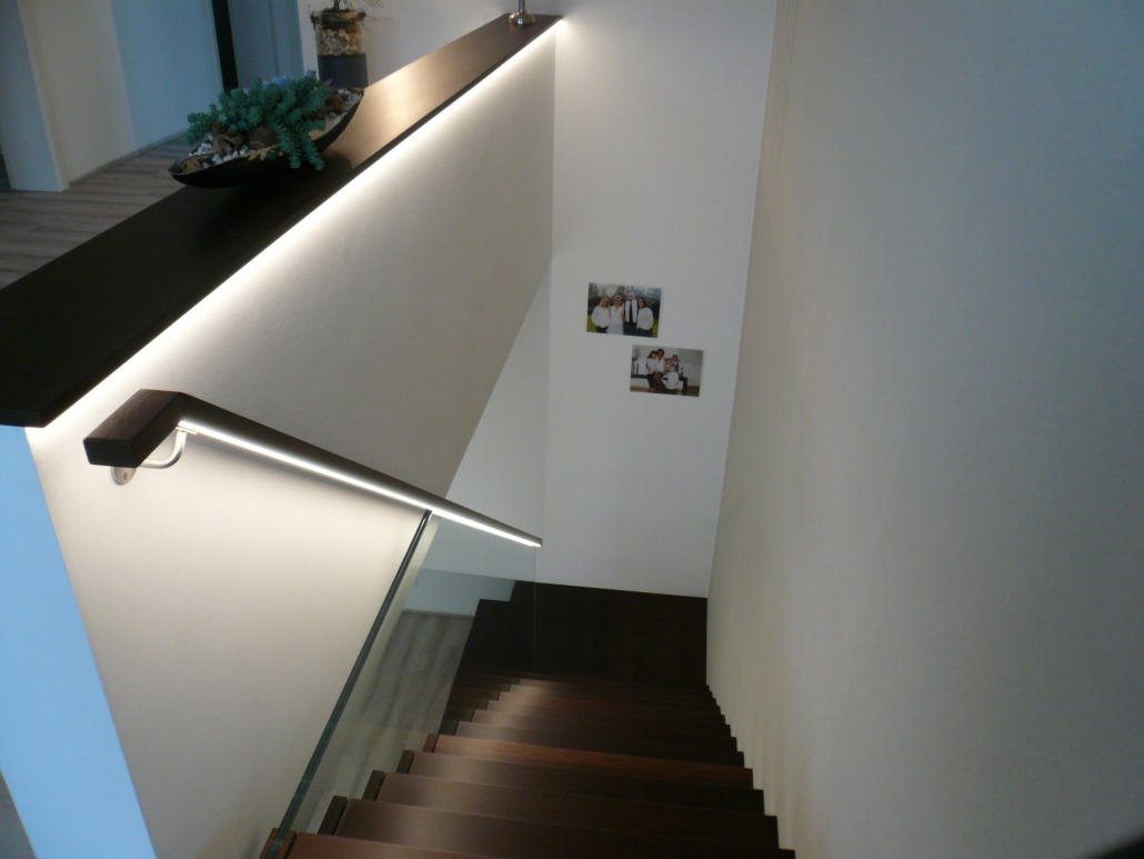 brüstung treppe